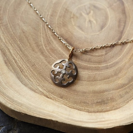 Diamond Charm(Silver/K18YG)/1211-031