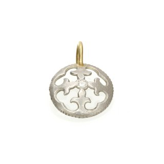 Diamond Charm(Silver/K18YG )/1211-012