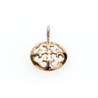 Diamond Charm(K18PG/K18WG)/1212-001
