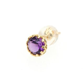 studded  Pierce Amethyst/1211-019