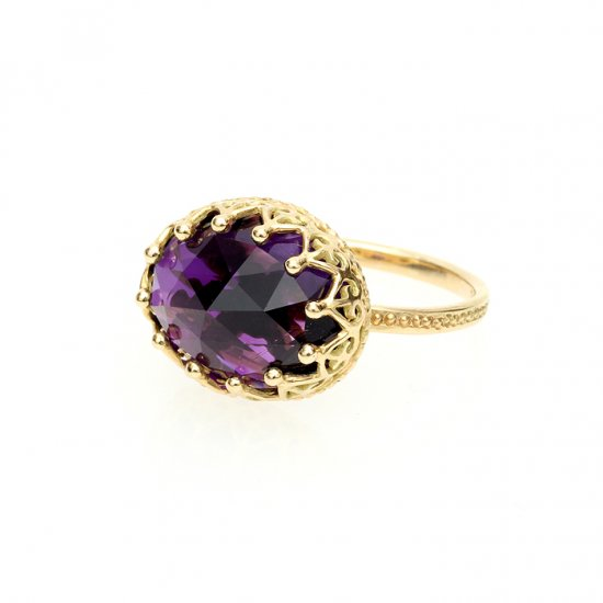 Jewel Ring Amethyst/1211-003
