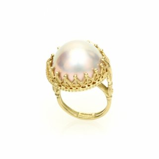 Mabe Pearl Ring K18GG/1211-002