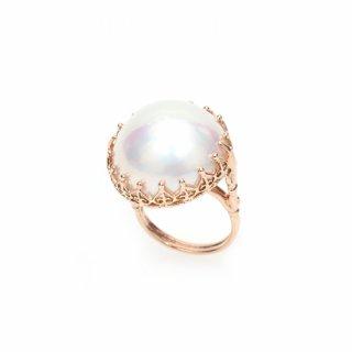 Mabe Pearl Ring K18PG/1301-009