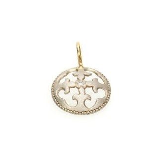 Diamonds Charm(Silver/K18YG )/1211-032