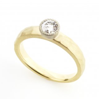 mill Diamond Cut  Ring/1311-008