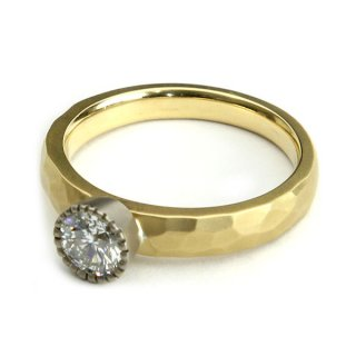 mill Diamond Cut Ring/1311-012