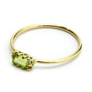 float ring Peridot perallel/1311-024
