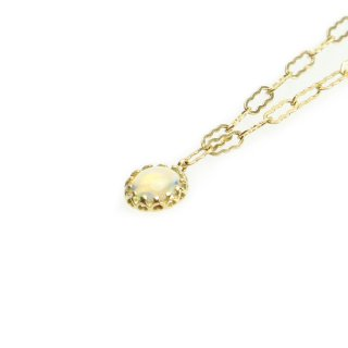float necklace Opal/1402-043