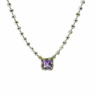 float necklace Amethyst / 1402-006