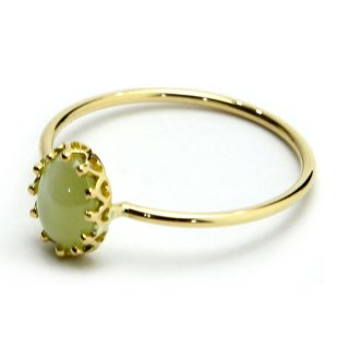 float ring  Chrysoberyl Cats Eye/1402-015