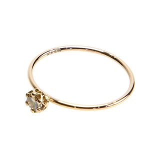 float ring brownish Diamond/1402-036
