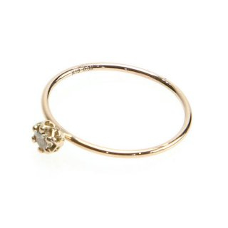 float ring brownish Diamond/1402-037