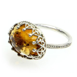 Jewel Ring Citrine Quartz/1212-021
