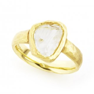 rough diamond ring(flat)/1403-010