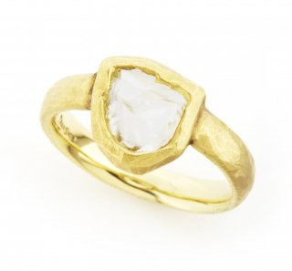 rough diamond ring(flat)/1403-011