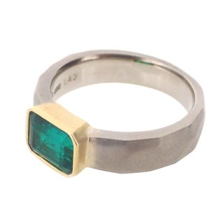 Emerald Cut Ring/1412-010