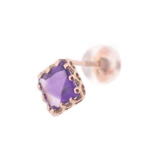 studded  Pierce Amethyst/1502-023