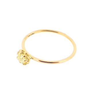 float ring fancy yellow Diamond/1502-042