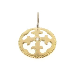 Diamond Charm(K18YG/K18WG)/1502-046