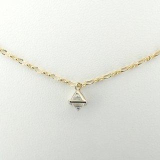 framed rough diamond pendant/1504-006
