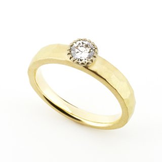 mill Diamond Cut Ring/1508-001