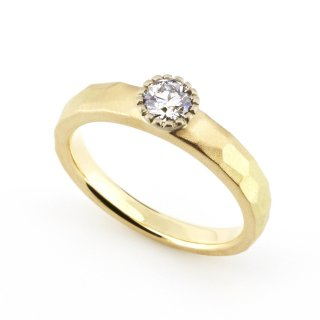 Mill Diamond cut ring/1508-002