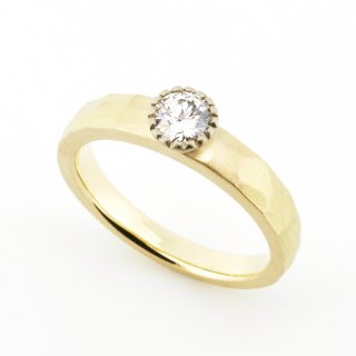 mill Diamond Cut Ring/1508-003