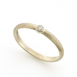cool d Ring K18WG /1508-009