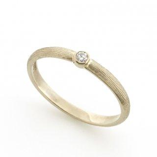 cool d Ring K18WG /1508-009