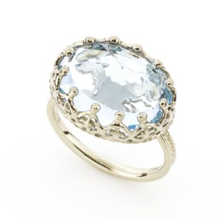 Jewel Ring Blue Topaz/1508-019
