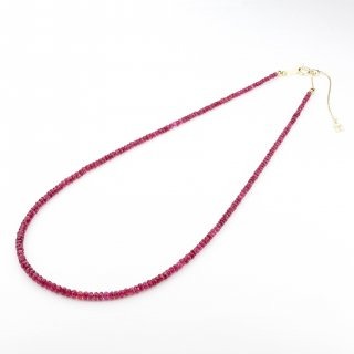 Red Spinel Choker/1509-006