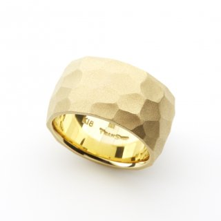 cut ring wide pinky K18YG/1509-013