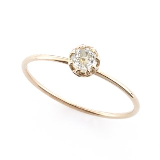 float ring dome shape Diamond / 1510-006