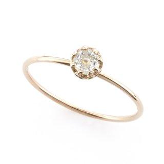float ring dome shape Diamond / 1510-006
