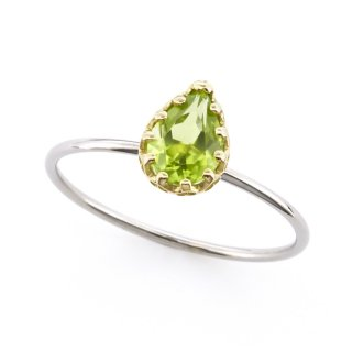 float ring Peridot / 1510-009