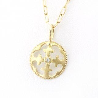 Diamond Charm(K18YG/K18YG)/1510-036