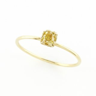 float ring fancy yellow Diamond / 1510-047