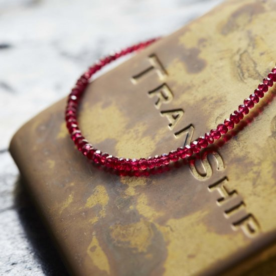 Red Spinel Bracelet  / 1511-006