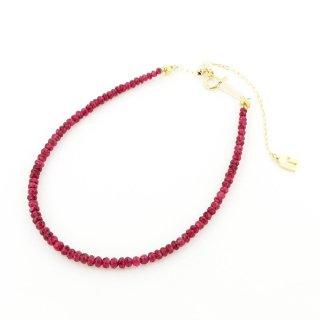 Red Spinel Bracelet  / 1511-008