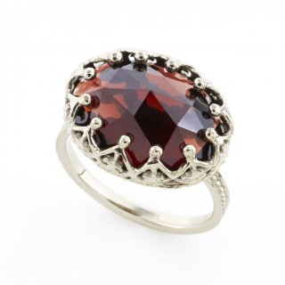 Jewel Ring Garnet / 1511-024