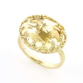 Jewel Ring Citrine quartz / 1511-026