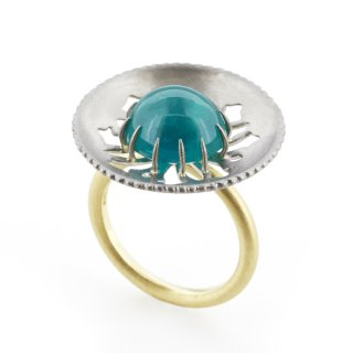 parabola ring Emerald/1511-048