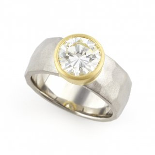 Diamond cut  ring/1512-001