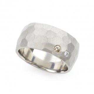 cut ring wide pointed Diamond K18WG/1512-003