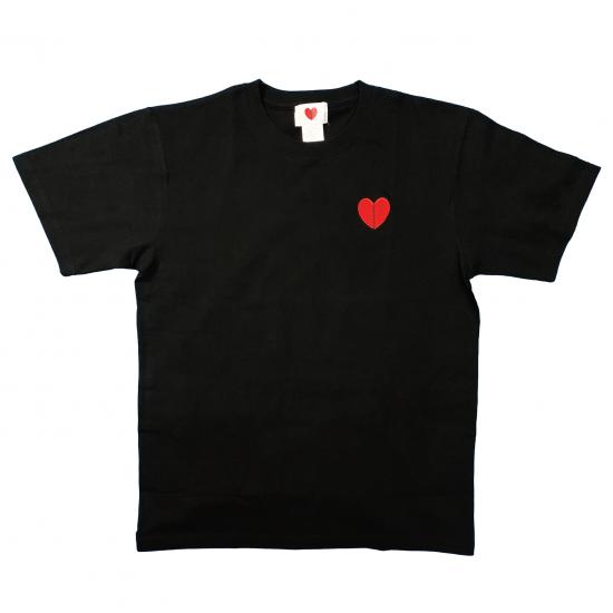 ハートブレイブ刺繍Tシャツ