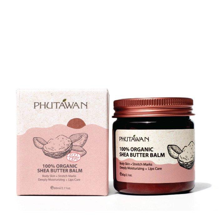 オーガニック シアバター 100% 10g-60g/PHUTAWAN