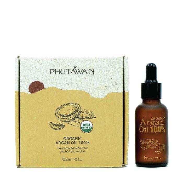 オーガニック アルガンオイル 100% 5ml