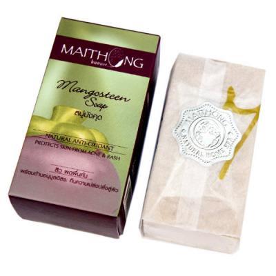 マイトーン マンゴスチン石鹸 100g/Maithong Mangosteen Soap