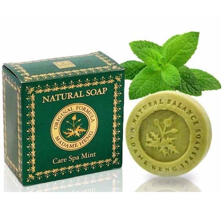 【マダム ヘン】ナチュラルソープ ミント 150g/Madame Heng Soap Care Spa Mint