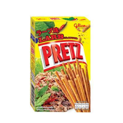 タイ グリコ プリッツ ラーブ味 38g